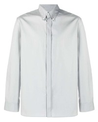 graues Langarmhemd von Salvatore Ferragamo