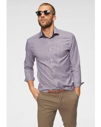 graues Langarmhemd von Selected Homme