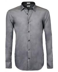 graues Langarmhemd von Signum