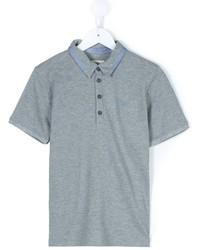 graues Polohemd von Armani Junior