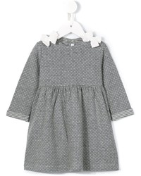 graues Strick Kleid