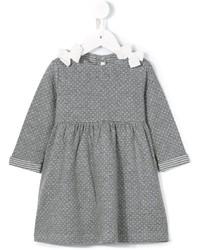 graues Strick Kleid von Il Gufo