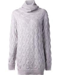 graues Strick Sweatkleid von Marc Jacobs