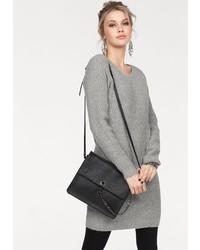 graues Strick Sweatkleid von Vero Moda