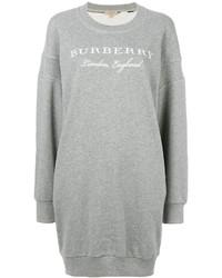 graues Sweatkleid von Burberry