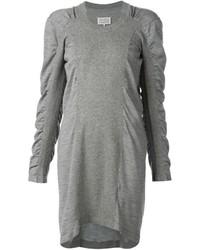 graues Sweatkleid von Maison Margiela