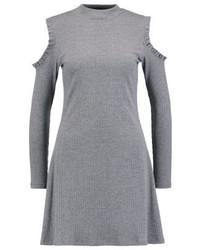 graues Sweatkleid von New Look