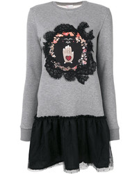 graues Sweatkleid von RED Valentino