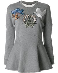 graues Sweatshirt von Alexander McQueen