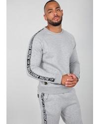 graues Sweatshirt von Alpha Industries