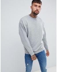 graues Sweatshirt von ASOS DESIGN