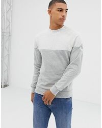 graues Sweatshirt von Barbour Beacon