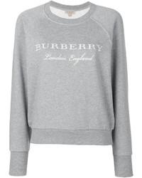 graues Sweatshirt von Burberry