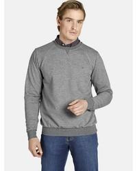 graues Sweatshirt von Charles Colby