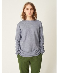 graues Sweatshirt von cleptomanicx