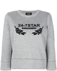 graues Sweatshirt von Dsquared2