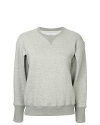 graues Sweatshirt von Facetasm