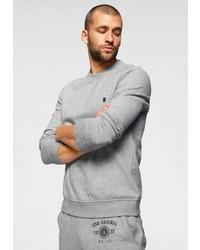graues Sweatshirt von Izod