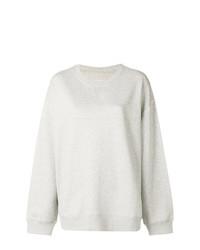 graues Sweatshirt von MM6 MAISON MARGIELA