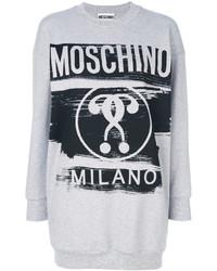 graues Sweatshirt von Moschino
