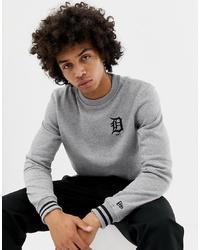 graues Sweatshirt von New Era