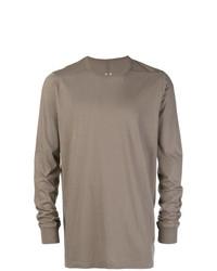 graues Sweatshirt von Rick Owens