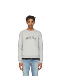 graues Sweatshirt von Saint Laurent