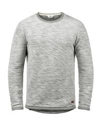 graues Sweatshirt von Solid