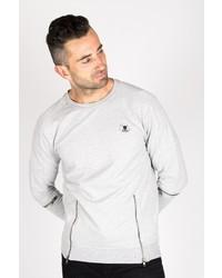 graues Sweatshirt von Tuffskull