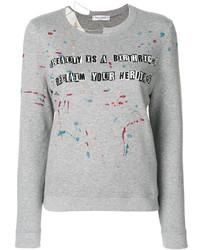 graues Sweatshirt von Valentino