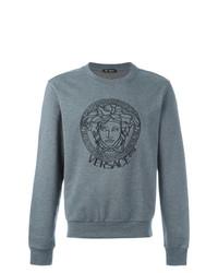 graues Sweatshirt von Versace