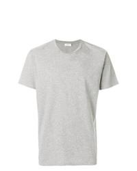 graues T-Shirt mit einem Rundhalsausschnitt von Closed