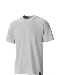 graues T-Shirt mit einem Rundhalsausschnitt von Dickies