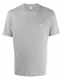 graues T-Shirt mit einem Rundhalsausschnitt von Eleventy