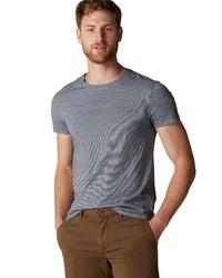 graues T-Shirt mit einem Rundhalsausschnitt von Marc O'Polo