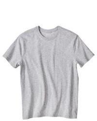 Graues t shirt mit rundhalsausschnitt original 1314303