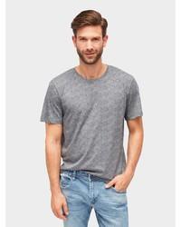 graues T-Shirt mit einem Rundhalsausschnitt von Tom Tailor