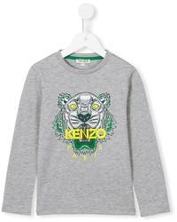graues T-shirt von Kenzo