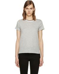 graues T-shirt von Rag & Bone
