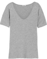graues T-shirt von Splendid
