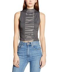 graues Trägershirt von Calvin Klein Jeans
