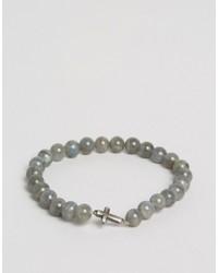 graues Perlen Armband von Simon Carter