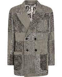 graues Wollzweireiher-sakko von Dolce & Gabbana