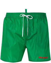 grüne Badeshorts von DSQUARED2