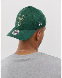 grüne bedruckte Baseballkappe von New Era