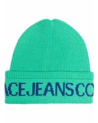 grüne bedruckte Mütze von VERSACE JEANS COUTURE
