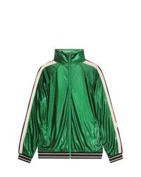 grüne Bomberjacke von Gucci