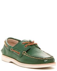 grüne Bootsschuhe