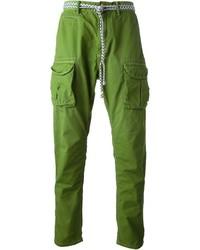 grüne Cargohose