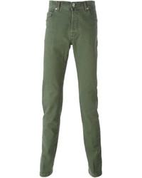 grüne Chinohose von Kiton
